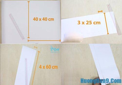 Hướng dẫn làm diều giấy đơn giản nhất