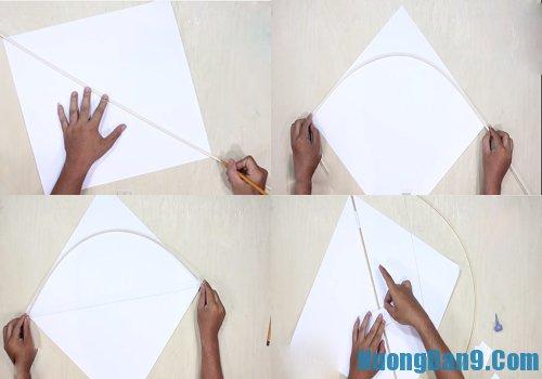 Cách làm diều giấy nhanh nhất