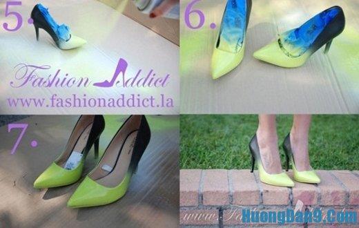 Các cách biến giày cũ thành giày mới
