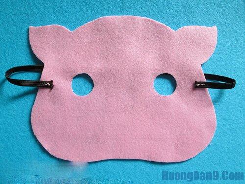 Học cách làm mặt nạ bằng vải dạ đơn giản