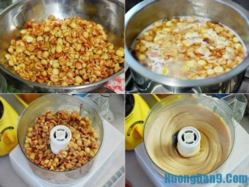 Dạy cách làm nhân hạt sen cho bánh Trung thu