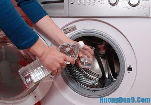 Hướng dẫn làm sạch lồng giặt đầy đủ