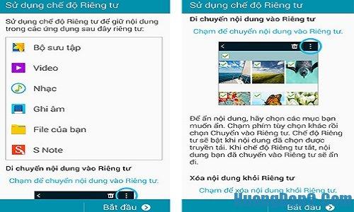 Tìm hiểu về tính năn ẩn riêng tư trên Samsung Galaxy Note 4