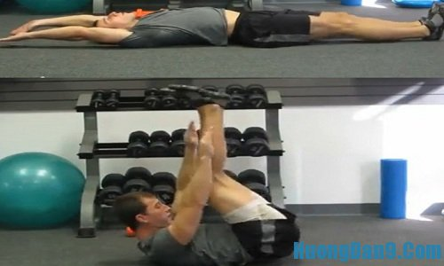 Hư�ng dẫn chi tiết các ��ng tác tập cơ bụng 6 múi