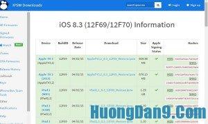Hướng dẫn hạ iOS 9 xuống iOS 8 cho iPhone, iPad đơn giản, chi tiết