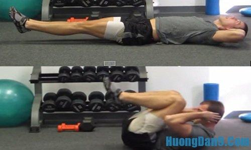 Hướng dẫn các bài tập cơ bụng 6 múi cực hiệu quả