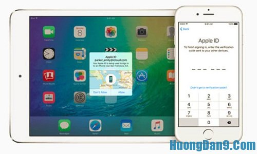 Nâng cấp thiết bị lên phiên bản iOS 9 để giúp việc bảo mật được tốt hơn