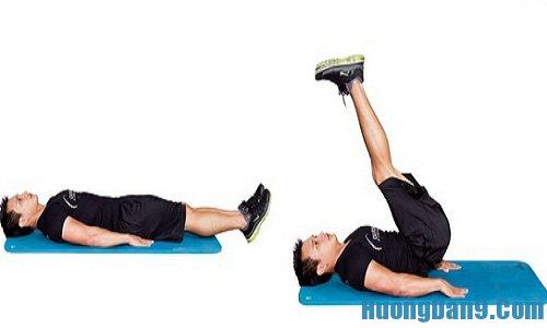 Các bài tập cơ bungh 6 múi đơn giản, cực hiệu quả tại nhà