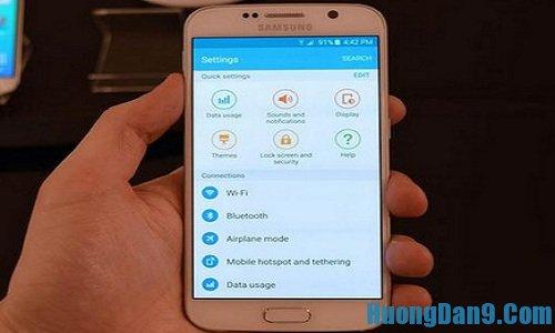 Hướng dẫn cách khắc phục các lỗi thường gặp trên Samsung Galaxy S6