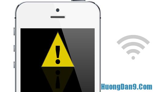 Hướng dẫn khắc phục lỗi wifi kém cho iPhone 5 bạn nên biết