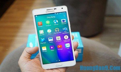 Hướng dẫn cách kiểm tra điện thoại Samsung Galaxy A7 chính hãng