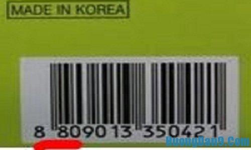Hướng dẫn phân biệt mỹ phẩm hàn quốc thật giả qua mã vạch