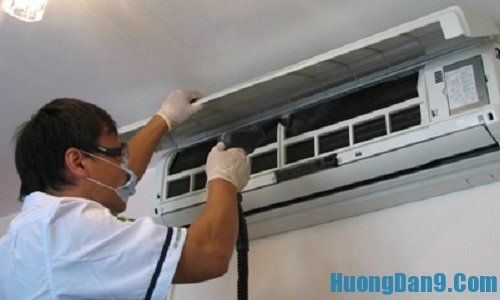 Hướng dẫn các bước chi tiết cách tự vệ sinh điều hòa đúng cách tại nhà