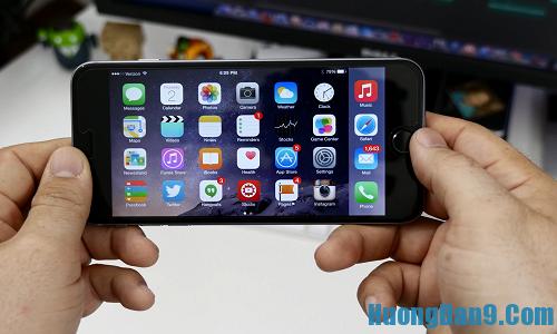 Khóa màn hình iPhone ở chế độ màn hình ngang bằng thủ thuật iPhone