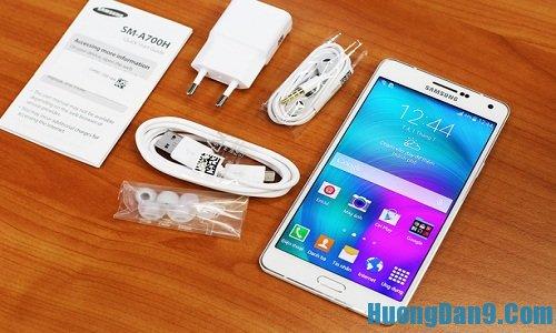Kiểm tra Samsung Galaxy A7 chính hãng bằng thiết kế bên ngoài và các phụ kiện