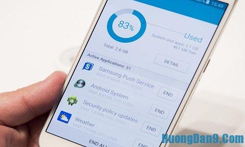 Hướng dẫn khắc phục lỗi tự khởi động lại ứng dụng trên Samsung galaxy s6