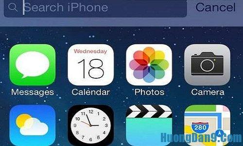 Thủ thuật tìm kiếm khi sử dụng iPhone 5s có thể bạn chưa biết