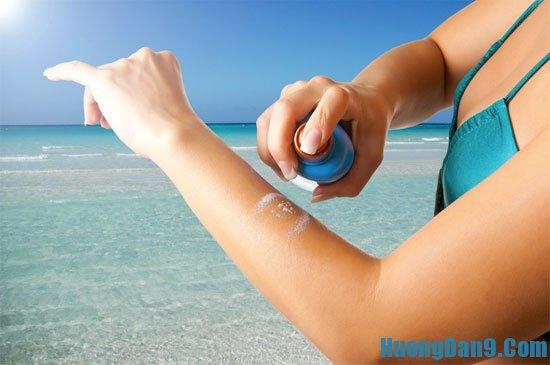 Mẹo sử dụng kem chống nắng hiệu quả
