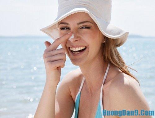 Những lưu ý khác khi sử dụng kem chống nắng