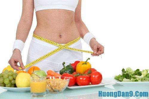 Cách giảm mỡ bụng bằng chế độ dinh dưỡng