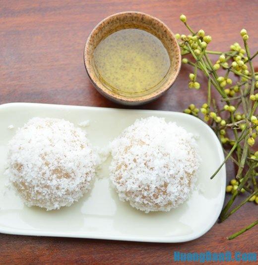 Hướng dẫn cách làm bánh mochi đậu phụ phủ dừa nạo