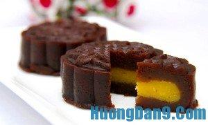 Hướng dẫn cách làm bánh nướng socola đón trung thu