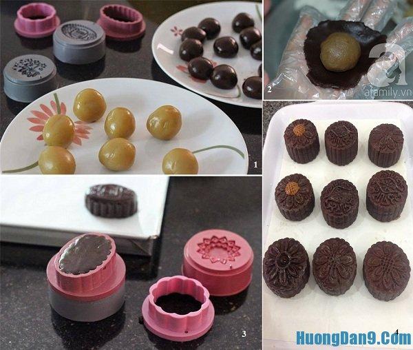 Hướng dẫn thực hiện cách làm bánh trung thu socola tại nhà ngon mà đơn giản