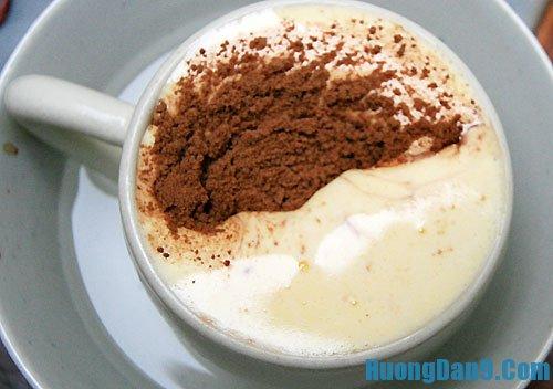 Hướng dẫn cách pha cà phê trứng thơm ngon và đơn giản nhất