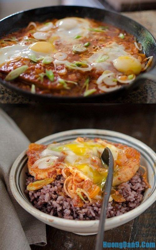 Món đậu phụ rán trứng sốt cay kiểu Hàn Quốc thơm ngon, hấp dẫn mà giá cực rẻ
