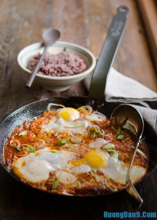 Hướng dẫn cách làm món đậu phụ rán trứng kiểu Hàn Quốc