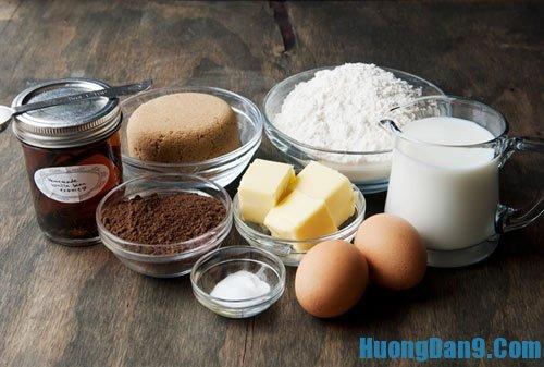 Những nguyên liệu cần thiết để làm mì chocolate pasta ngon, lạ tại nhà