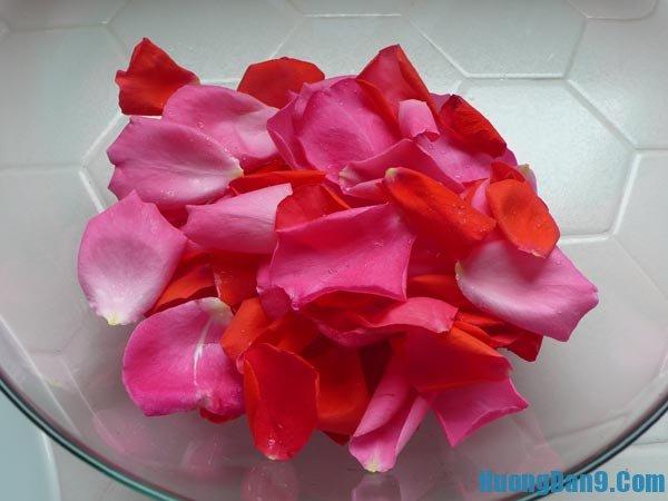 Nguyên liệu làm nước hoa hồng