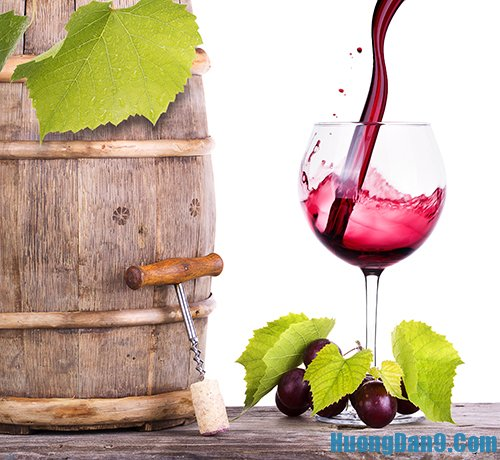 Hướng dẫn cách làm rượu nho