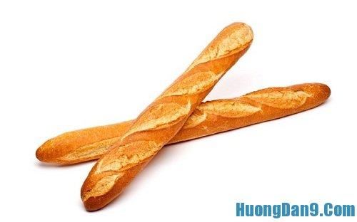 Mẹo làm trắng răng bằng bánh mì