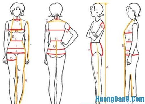 Hướng dẫn cách đo may quần áo chuẩn nhất