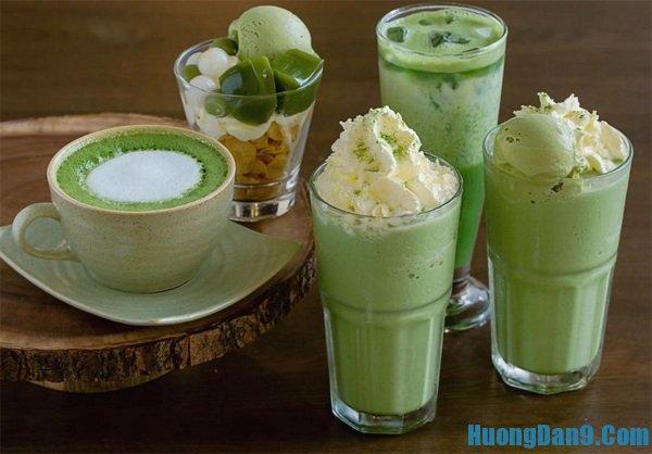 Hướng dẫn cách pha chế trà sữa matcha Nhật Bản ngon