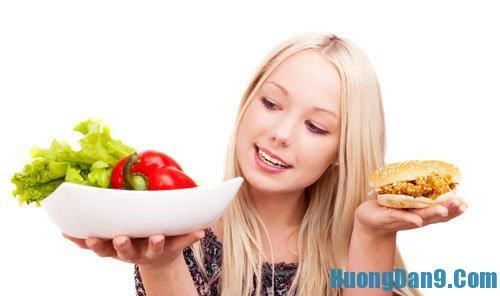 Tăng cân nhanh bằng chế độ ăn uống