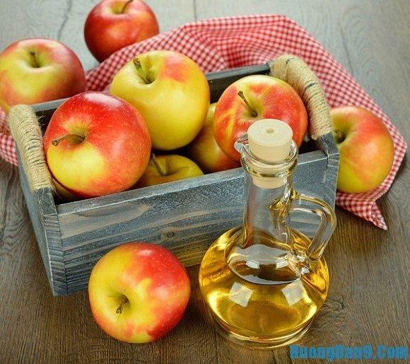 Cách trị gàu bằng giấm táo