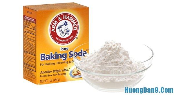 Hướng dẫn cách trị gàu nhanh bằng baking soda
