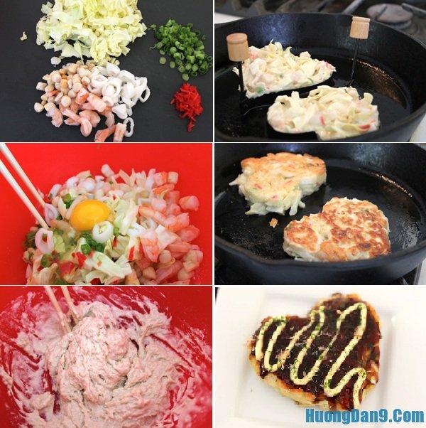 Hướng dẫn chi tiết các bước làm bánh xèo Nhật chuẩn vị nhất tại nhà