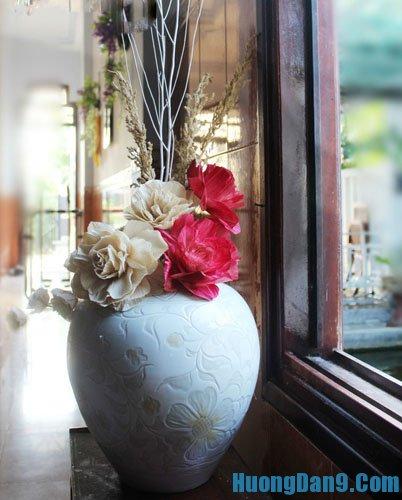 Hướng dẫn làm hoa giả từ vỏ ngô