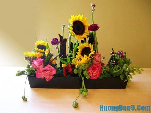 Dạy cách cắm hoa cơ bản