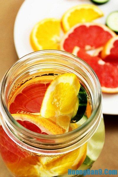 Hướng dẫn cách làm nước detox thanh lọc cơ thể, giảm cân hữu hiệu tại nhà