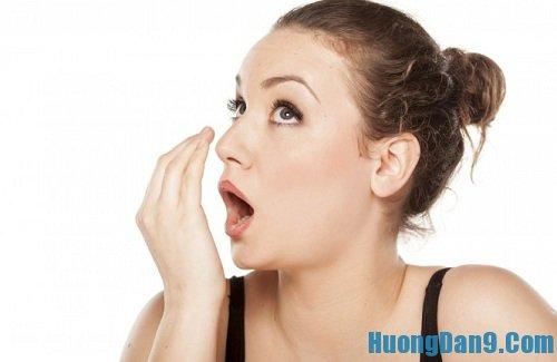 Hướng dẫn cách chữa hôi miệng nhanh chóng cực hiệu quả tại nhà