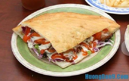 Hướng dẫn cách làm bánh mì doner kebab thơm ngon tại nhà