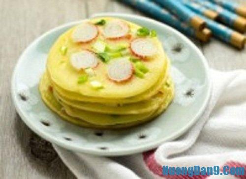 Hướng dẫn cách làm bánh trứng kiểu mới thơm ngon