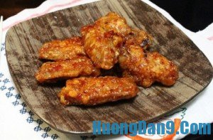 Hướng dẫn cách làm cánh gà rán tẩm vừng ngon chuẩn vị xứ Hàn