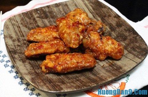 Hướng dẫn cách làm cánh gà rán tẩm vừng kiểu Hàn quốc thơm ngon tại nhà