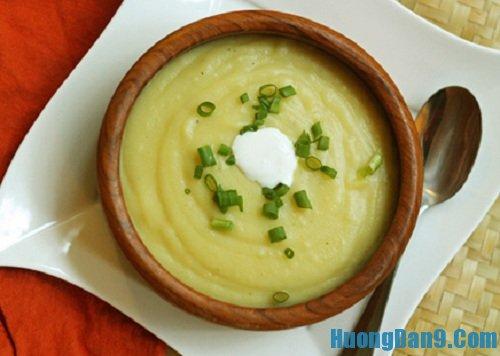 Hướng dẫn cách làm súp khoai tây thơm ngon bổ dưỡng tại nhà