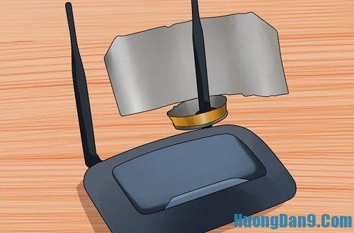 Hướng dẫn chi tiết cách làm tăng sóng wifi ở nhà đơn giản bằng lon bia